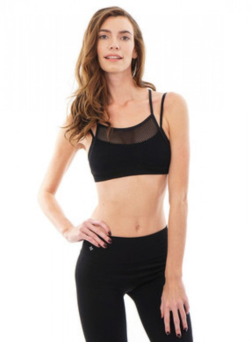 NUX Network Bra - Black - Workout Crew Athletic Online