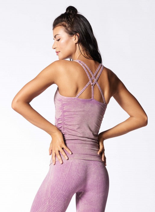 NUX SPELLBOUND CAMI - MINERAL VIOLET - Workout Crew Athletic Online