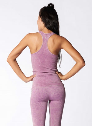 NUX Freedom Tank - Mineral Dusty Violet - Workout Crew Athletic Online
