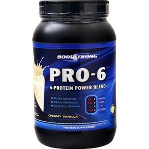 BodyStrong Pro-6 Protein Power Blend - Workout Crew Athletic Online
