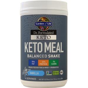 Garden Of Life Dr. Formulated Keto - Keto Meal - Workout Crew Athletic Online