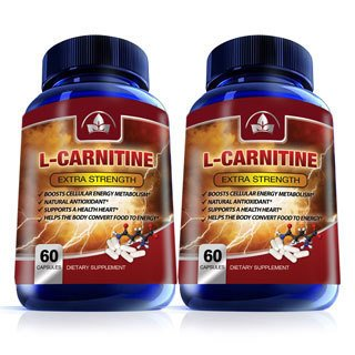 L-Carnitine Pure Essential Amino Acids 1000mg (60 Capsules) - Workout Crew Athletic Online