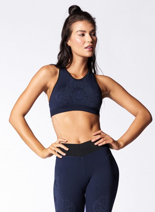 NUX Elizabeth Bra - Dark Sky - Workout Crew Athletic Online