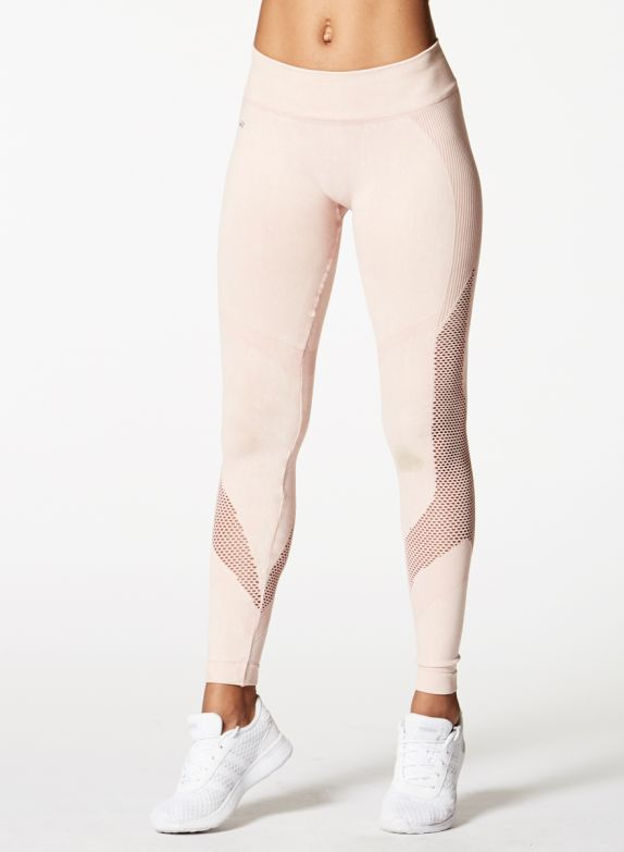 Nux Mineral Network Legging - Sheer Pink