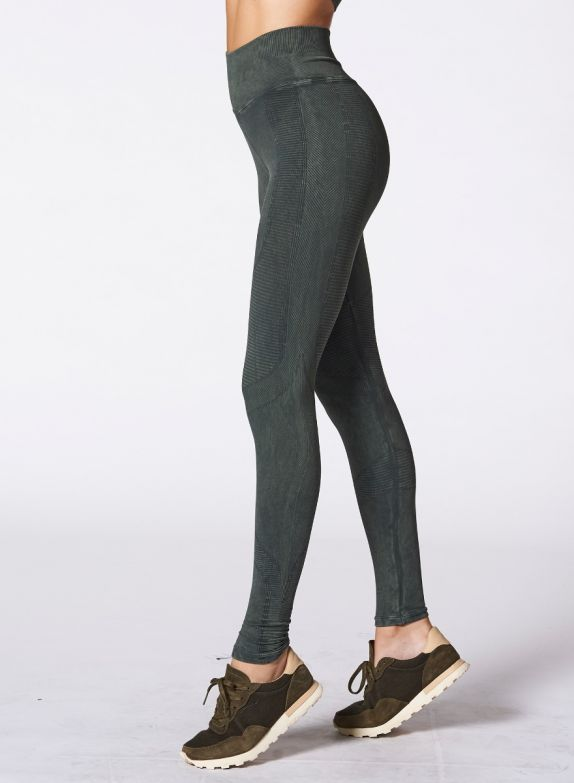 Nux One By One Legging - Forest Green