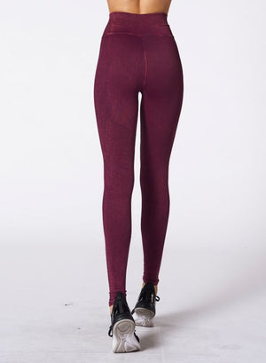Nux One By One Legging - Violet Wine