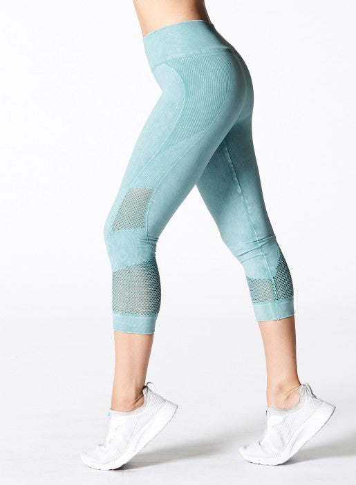 Nux Network Capri - Sage Wash - Workout Crew Athletic Online