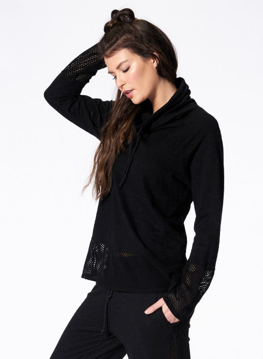 Nux - Ricky Long Sleeve - Black - Workout Crew Athletic Online