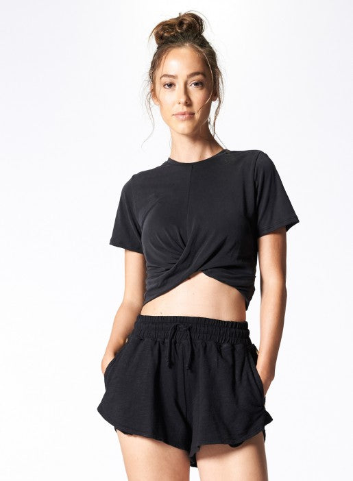 Nux All Tied Up Tee - Black