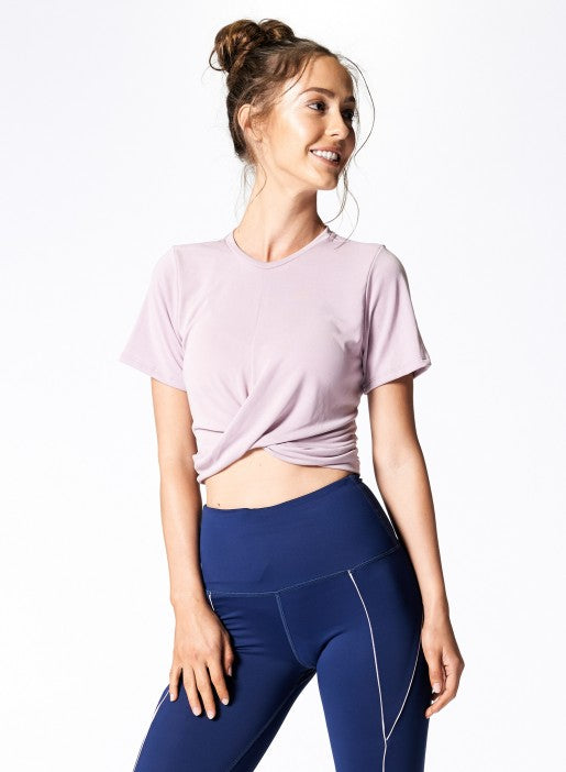 Nux All Tied Up Tee - Orchid - Workout Crew Athletic Online