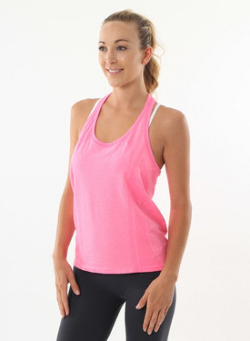 Nux Flow Tank - Flamingo - Workout Crew Athletic Online