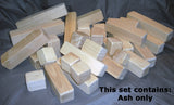 Wood Blocks (40 block set) - UnPainted