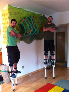 Stilt Walking Lesson - 1 hour, 2 people
