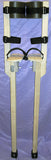 "Circus Peg Stilts for Adults - 3 foot tall (36"")"