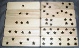 Wood Blocks - Numbers and Languages - Italian English