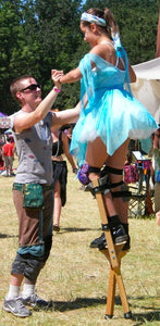 Stilt Walking Lesson - 1 hour, 1 person