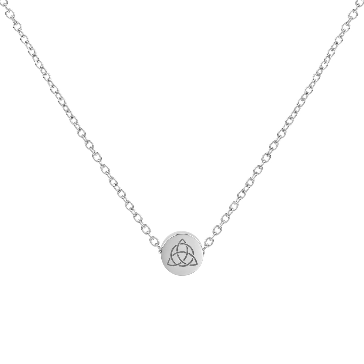 Triquetra Mini Pendant Necklace