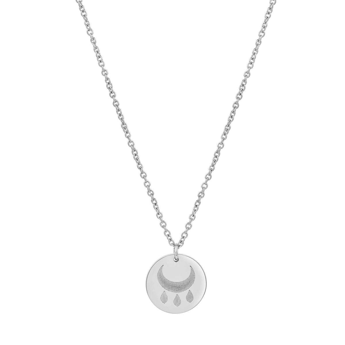 Blessings Round Disc Necklace