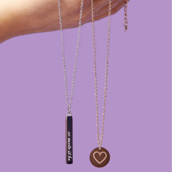 Love for All Round Disc Necklace