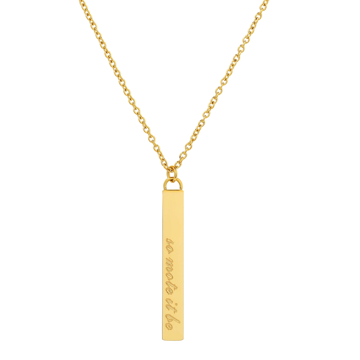 So Mote It Be Wand Necklace