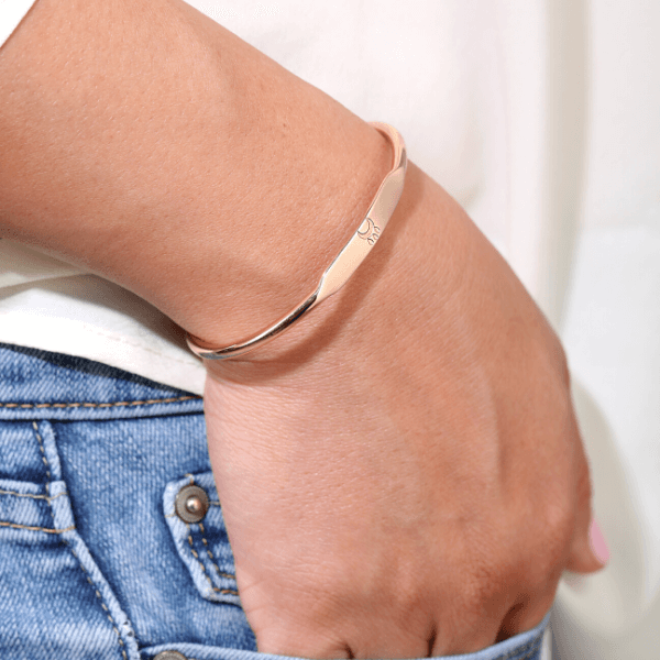 Sample Sale - Blessings Cuff Bracelet Gold