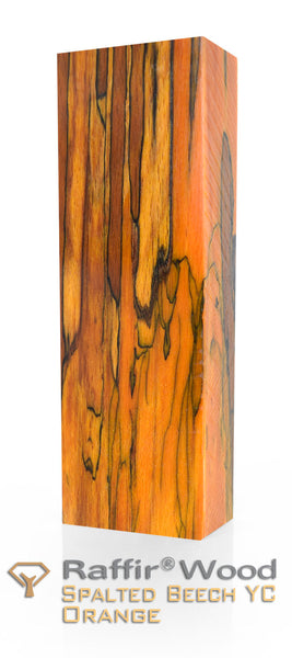 STABILIZED SPALTED BEECH-YC