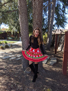 Magical Christmas Skater Skirt