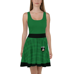House of the Cunning Skater Dress (Matching Top)