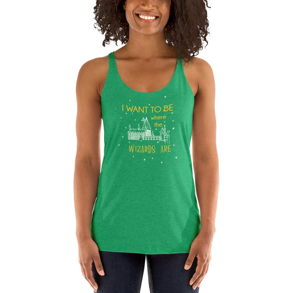 Wizards Are Racerback Tank