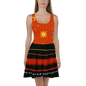 Danni Hocus Pocus Skater Dress