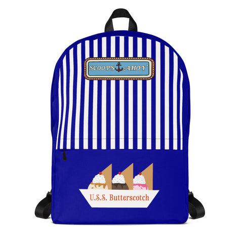 Scoops Ahoy Backpack