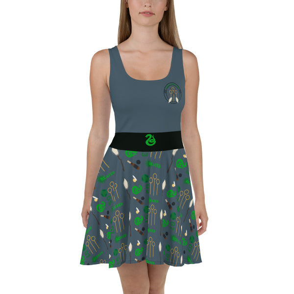 Cunning Quidditch Skater Dress