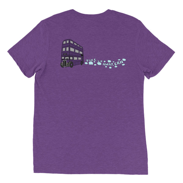 Knight Bus Unisex sleeve t-shirt