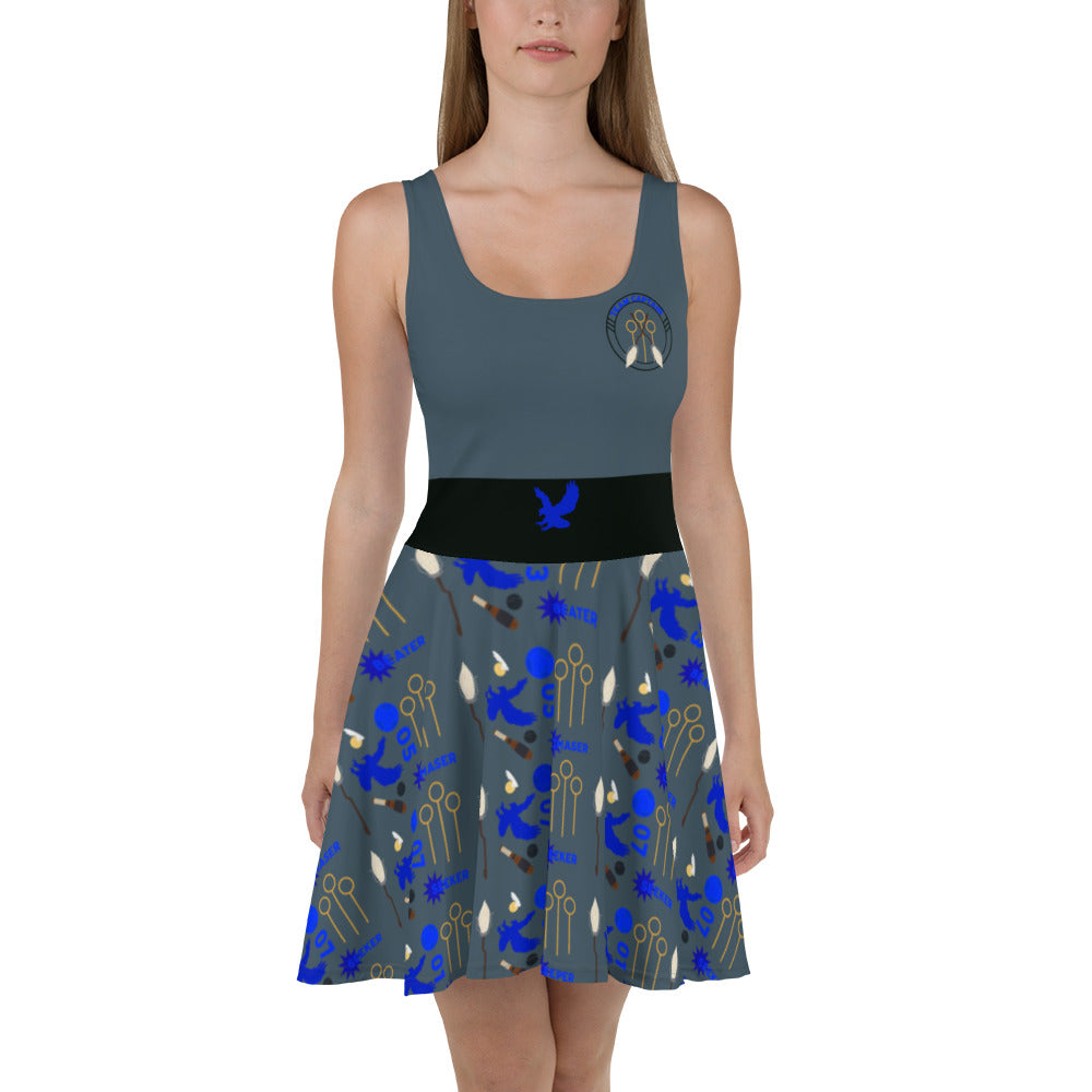 Wise Quidditch Skater Dress