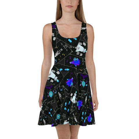 Haunted Tarot Skater Dress