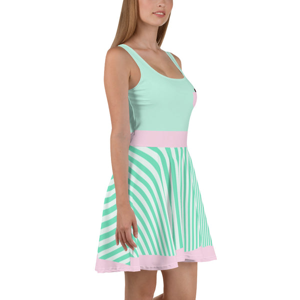 Candy Shop Mint Skater Dress