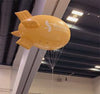 4m Blimp on trade fair in San Francisco