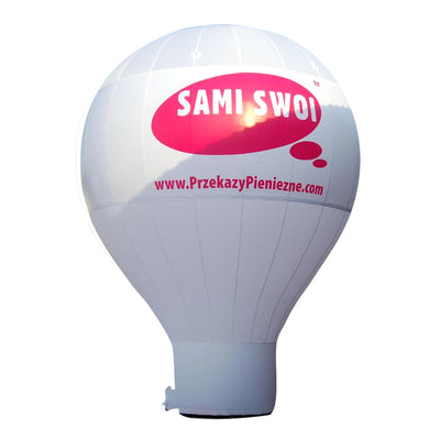 Standing Giant Balloon 6m (240'') / stock color without branding - Inflatable24.com