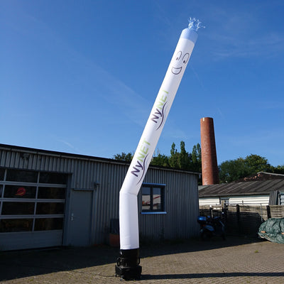 "Skytubes with digital printing 235""-6m - Inflatable24.com"