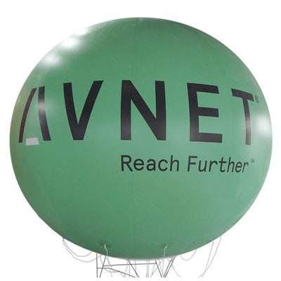 "Advertising balloon with logo 60""-160"" - Werbeballon 1,50m - 4m mit Logo  - Inflatable24.com"