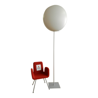 "Advertising balloon with stand height 450cm-180"" max for indoor use  - Inflatable24.com"