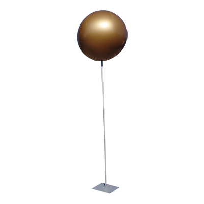"Advertising balloon with stand height 450cm-180"" max for indoor use 1m-40"" - Inflatable24.com"
