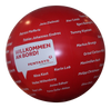 "Crowdballs Vinyl from 1m (40"")- 2m(80"") with Printing and lighting  - Inflatable24.com"