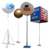 "Advertising balloon with stand height 450 cm (180"") max for indoor use  - Inflatable24.com"