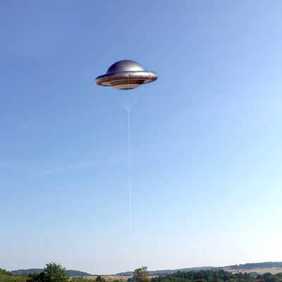 UFO - Flying Saucer balloon inflatable  - Inflatable24.com