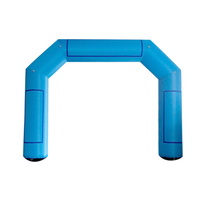 Inflatable Archway – EasyArch: stock color prepared for banner S (4 x 3) / blue / No Feet - Inflatable24.com