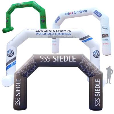 Inflatable Archway – EasyArch: fully printed in your color and design  - Inflatable24.com