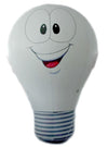 Inflatable light bulb height 300cm / Ø 188cm / Ø base 80cm - Inflatable24.com