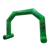 Inflatable Archway – EasyArch: fully printed in your color and design S (4 x 3) / Directly on arch / No Feet - Inflatable24.com