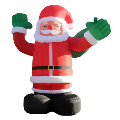 "Giant Santa Inflatable 240""-6m / 240D Oxford - Inflatable24.com"